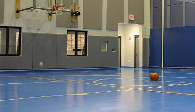 Kalamazoo Juvenile Center basketball court