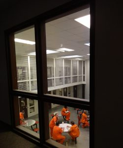 Securitecture | Livingston County Jail Elevated Control Room