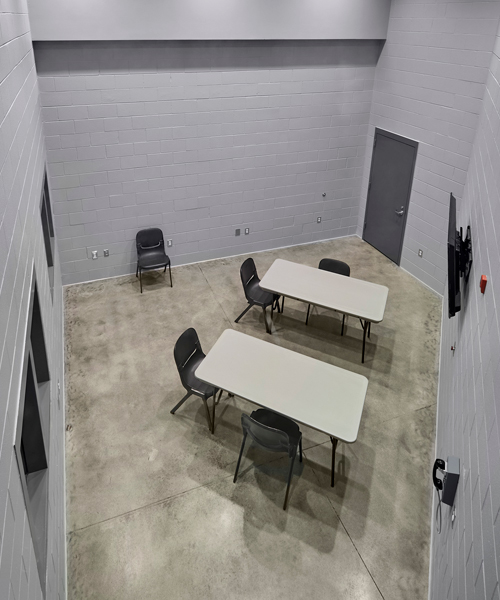 Securitecture Tipton County Sheriff's Office Correction Center | Jail Classroom